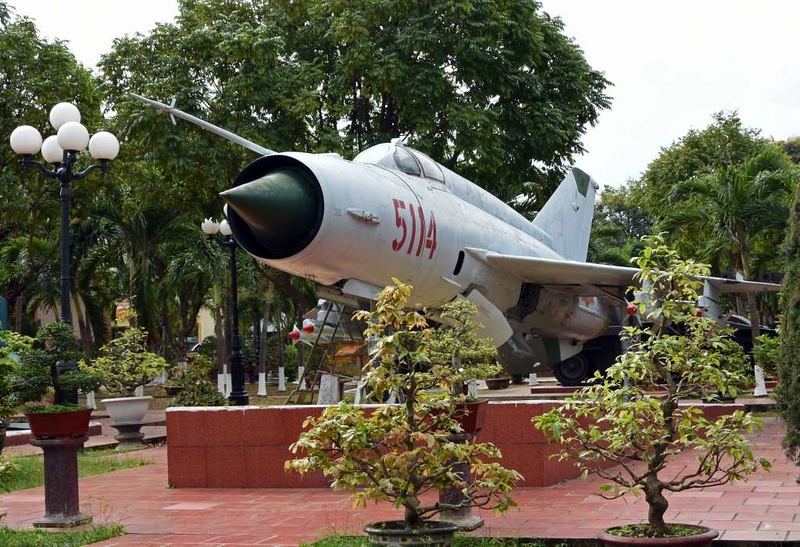 MiG-21 5114, Museum of Military Zone 5, Da Nang, 12 March 2018 2.