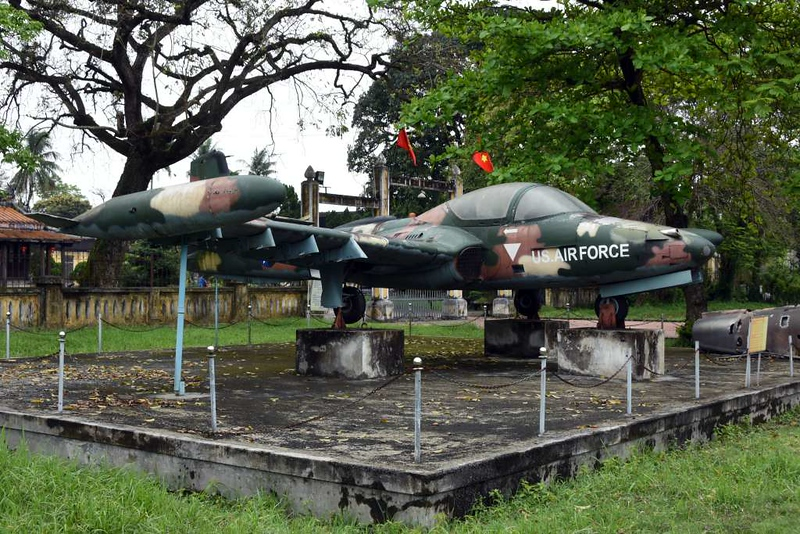Cessna A-37 Dragonfly 68-7957, Hue Military Museum, 10 March 2018 1.
