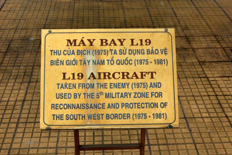 Cessna U-17 042, Museum of Military Zone 5, Da Nang, 12 March 2018 2.