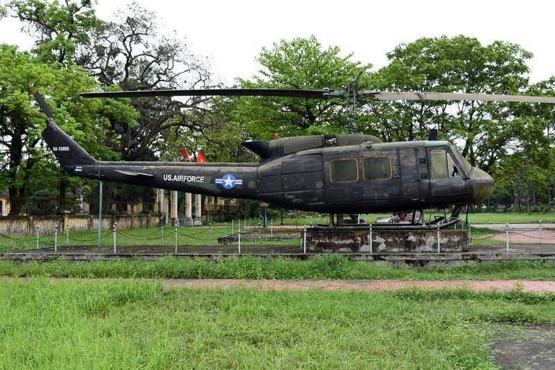 Bell UH-1 69-15955, Hue Military Museum, 10 March 2018 2.