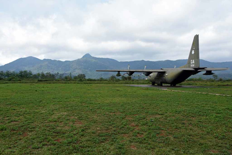 Lockheed C-130 Hercules 56-0532, Khe Sanh combat base museum, 9 March 2018 2.