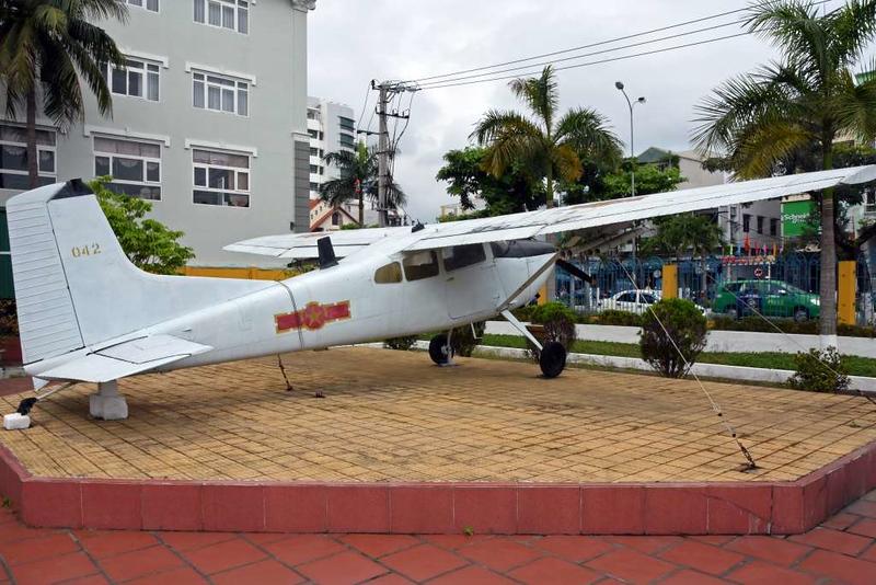 Cessna U-17 042, Museum of Military Zone 5, Da Nang, 12 March 2018 1.