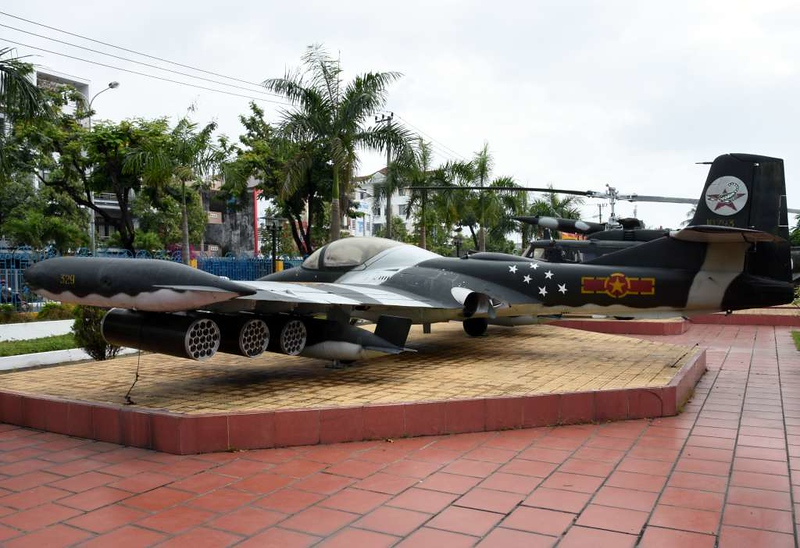 Cessna A-37 Dragonfly 10793, Museum of Military Zone 5, Da Nang, 12 March 2018 3.