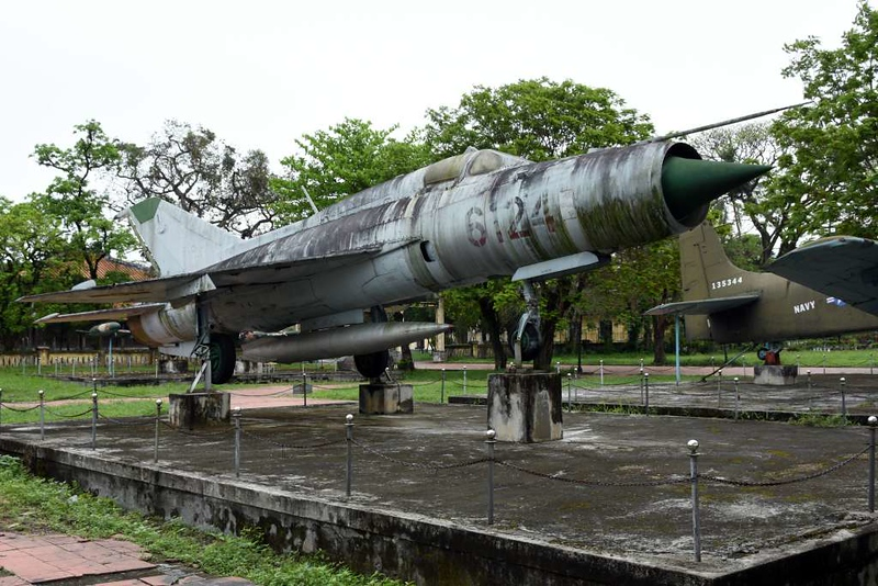MiG-21 6124, Hue Military Museum, 10 March 2018 2.