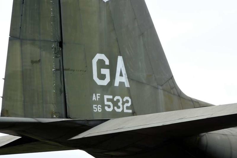 Lockheed C-130A Hercules 56-0532, Khe Sanh combat base museum, 9 March 2018 3.