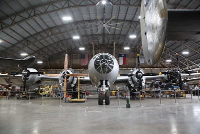 """Commemorative Air Force (ex-USAF) Boeing TB-29A Superfortress, 44-62070 / N4249 """"FiFi"""", under Winter maintenance ahead of the airshow season - 10/03/19"""