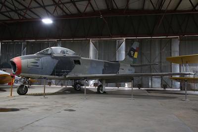 ex-Venezuelan & Bolivian AF North American F86F Sabre, 658 / 52-4689 / N8630 - 10/03/19