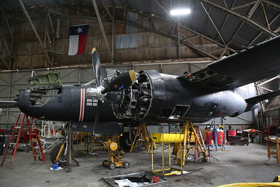 Commemorative Air Force (ex USAAF) Douglas A-26B Invader, 43-7140, under Winter maintenance ahead of the airshow season - 10/03/19