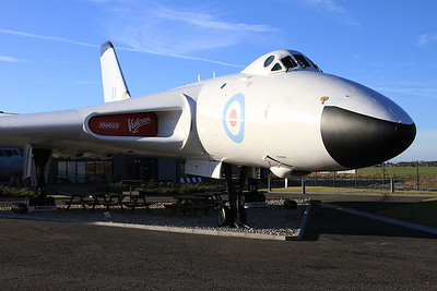 Avro Vulcan B.2 XM603 outside the Avro Heritage Museum, Woodford - 04/12/16.