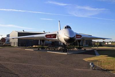 Avro Vulcan B.2 XM603 outside the Avro Heritage Museum, Woodford - 04/12/16.