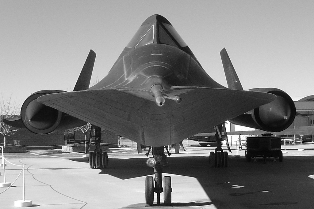 SR-71 at Palmdale