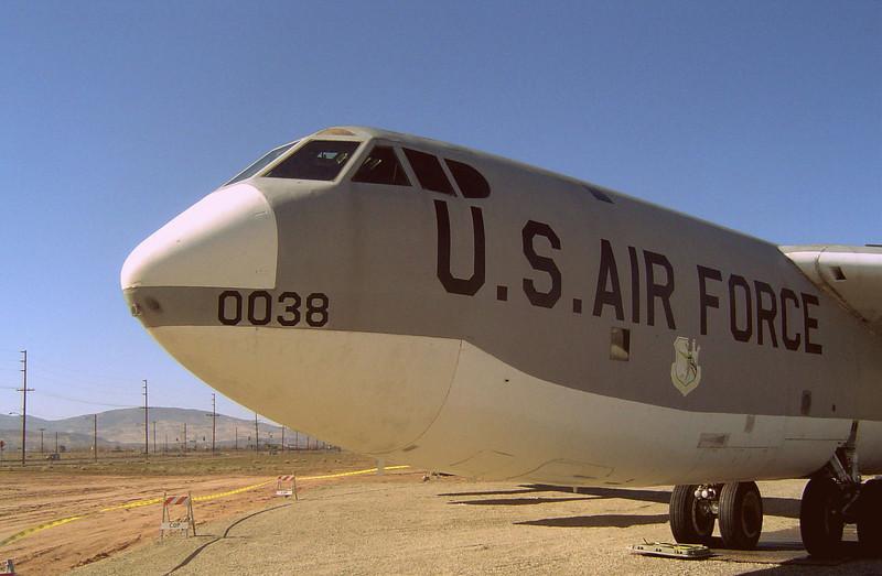 B-52 at Palmdale