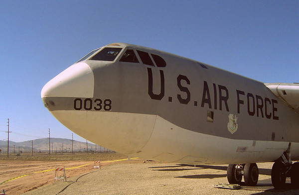 B-52 at Palmdale