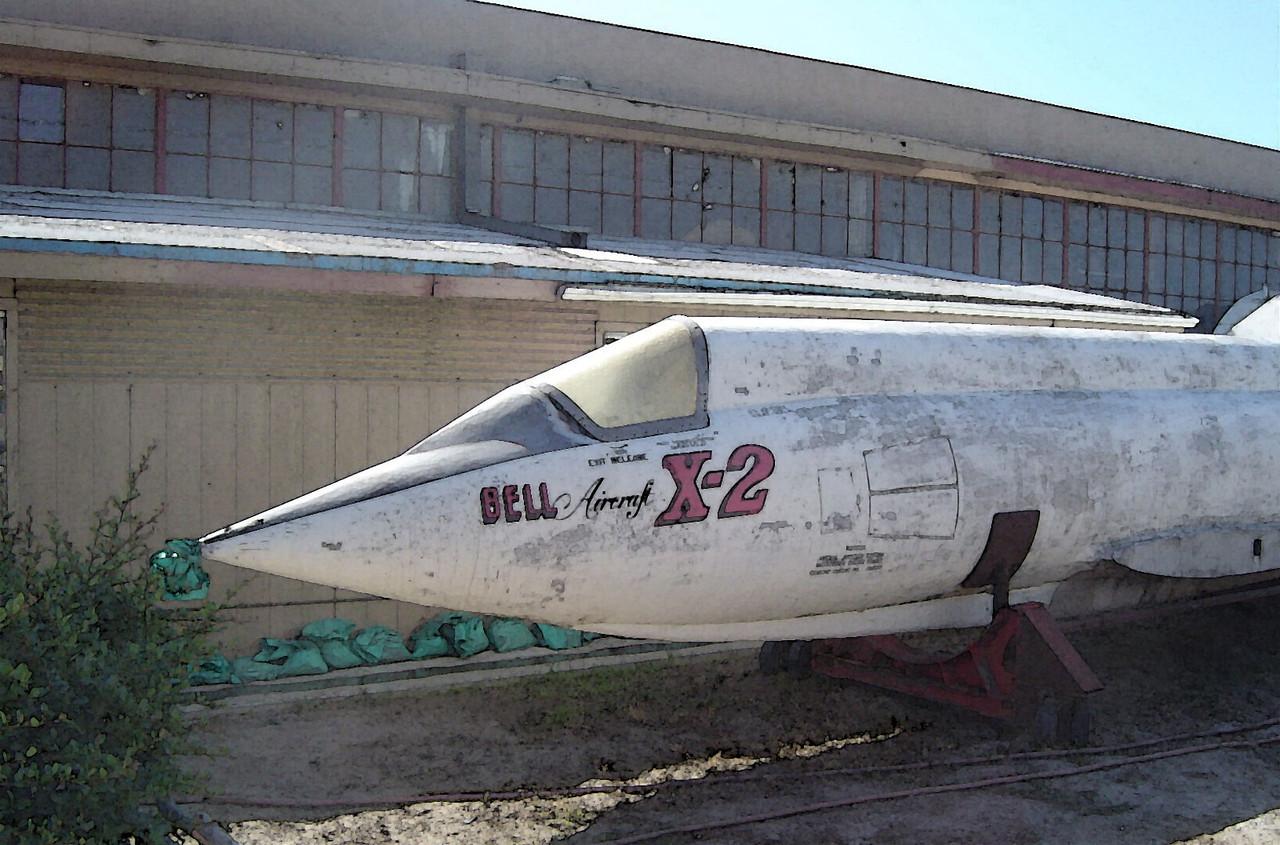 Bell X-2 at Chino