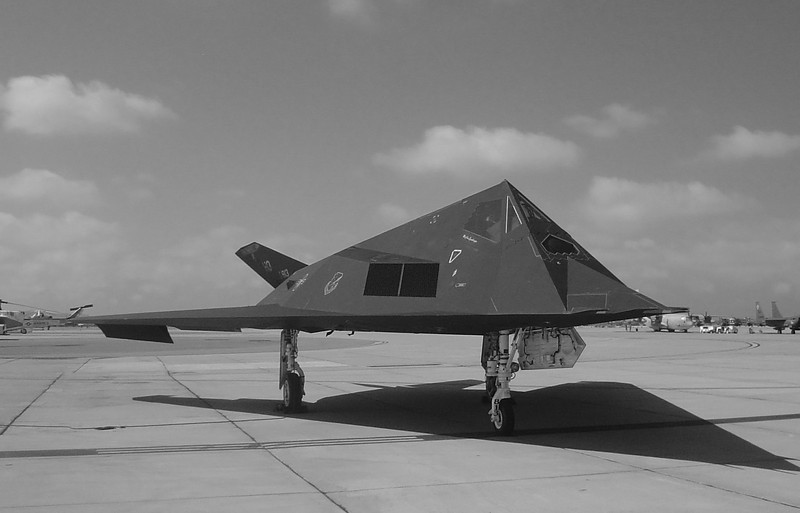 F-117 Stealth Fighter at Miramar
