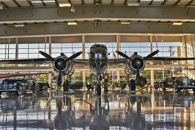 B-17 at the Lyon's Air Museum