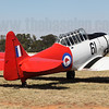 David Salter's ex-Royal New Zealand Air Force North American T-6D Havard VH-PEM.