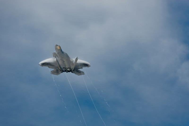 F-22 Raptor EAA AirVenture - Oshkosh Wisconsin 2008