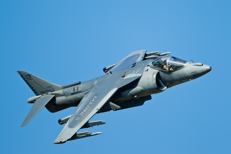 Marine AV-8B Harrier II