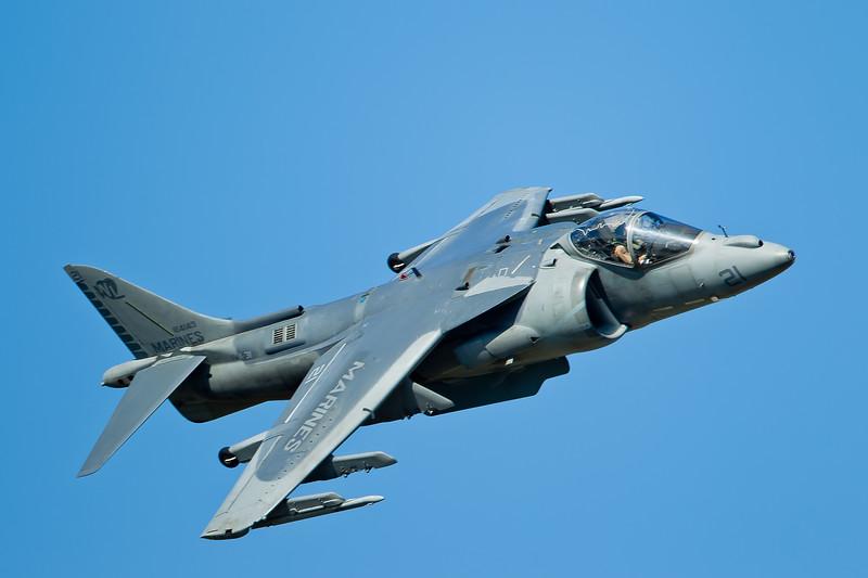 Marine AV-8B Harrier II