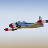 Vintage 1958 Lockheed T-33