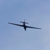 The Lockheed U-2, nicknamed Dragon Lady, is a single-engine, high-altitude aircraft flown by the United States Air Force and previously flown by the Central Intelligence Agency. It provides day and night, high-altitude (70,000 ft, 21,000 m plus), all-weather surveillance. The aircraft is also used for electronic sensor research and development, satellite calibration, and satellite data validation.