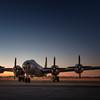 B-29 Super Fortress at Sunrise