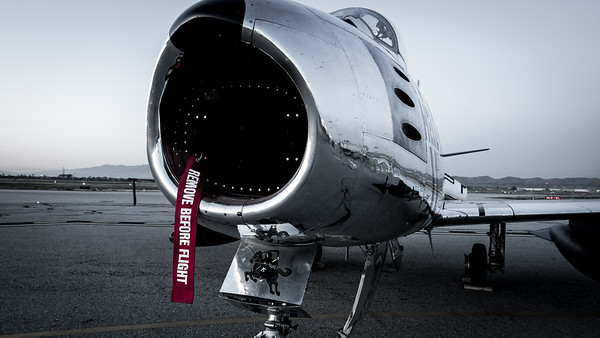 F-86 Sabre Remove Before Flight