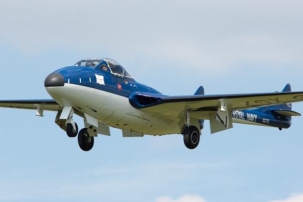 The World Heritage Air Museum's Vampire