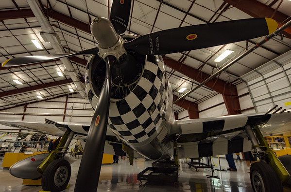P-47 Thunderbolt on display at the National Museum of WWII Aviation