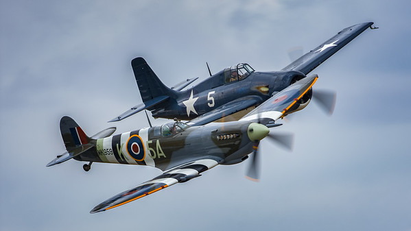 Wildcat and Spitfire