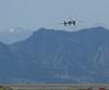 Conair Convair on approach Jeffco Airport Colorado