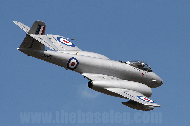 Temora's Gloster Meteor F.8 VH-MBX