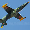 Aero L-39 Albatross rolling inverted