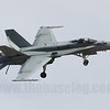 F/A-18A Hornet A21-4 low level dirty pass