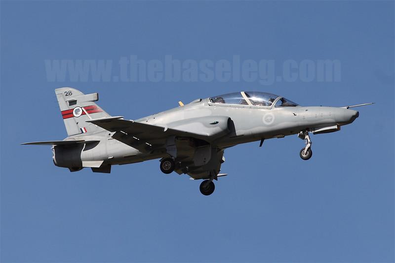 RAAF BAe Hawk 127 A27-28 of 76 Sqn