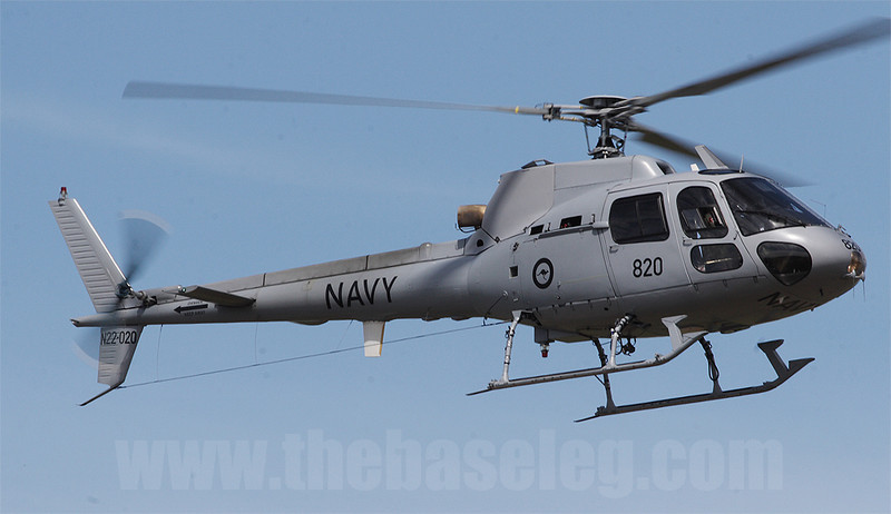 Royal Australian Navy Squrriel N22-020/820