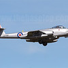 Temora Aviation Museum's Gloster Meteor F.8 VH-MBX. The only flying single-seat Meteor in the world.