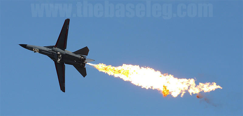 The F-111 and its trademark Dump and Burn will soon be a thing of the past.
