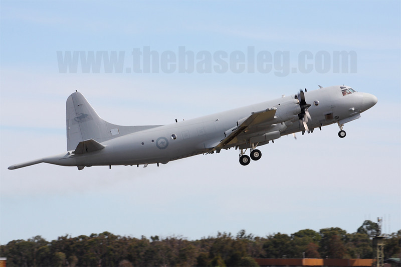 Upgraded AP-3C Orion maritime patrol aircraft A9-658 in 10 Sqn markings