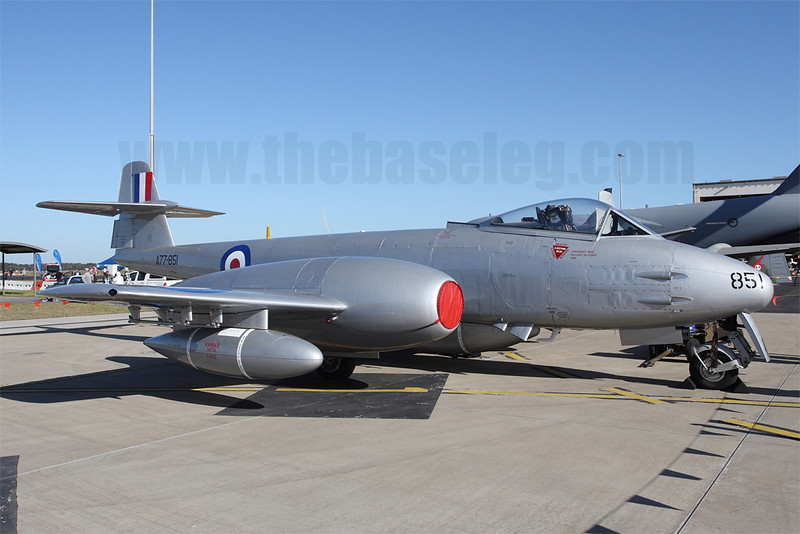 Gloster Meteor F.8 VH-MBX of the Temora Aviation Museum