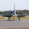 Head on of Aero L-39 Albatross VH-KEE