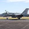 RAAF 3 Sqn F/A-18A Hornet A21-49. Note the Litening II pod on the centreline, a recent modification