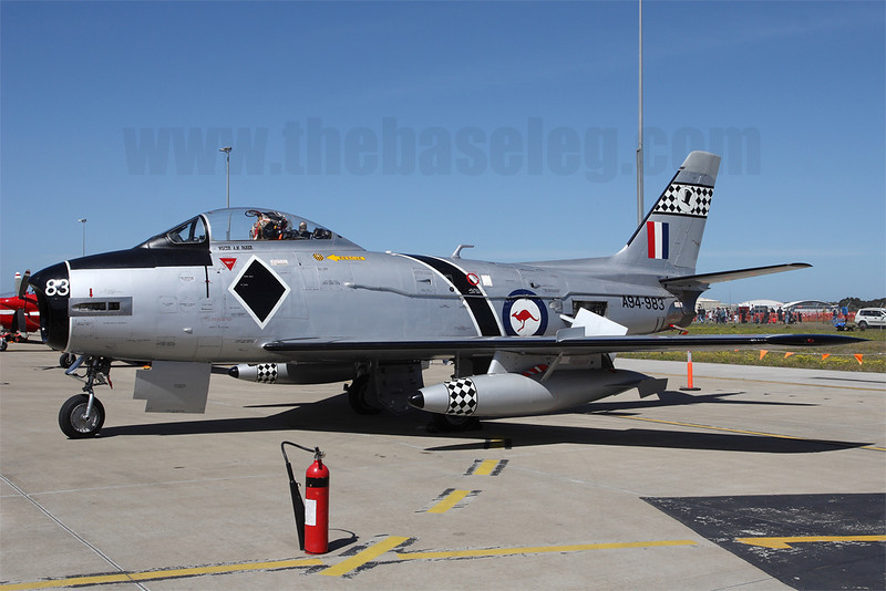 Temora Aviation Museum's CAC Sabre Mk.31 VH-IPN
