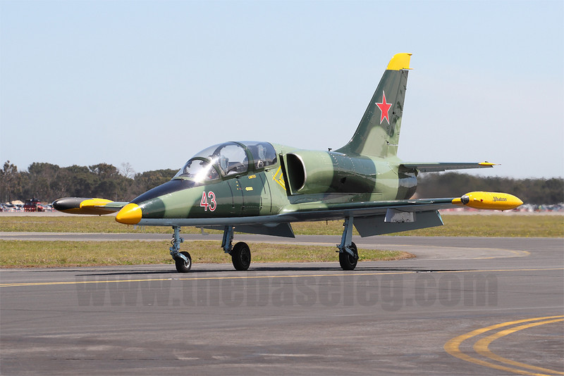 Aero L-39 Albatross VH-KEE is owned by Air Action in Cessnock, New South Wales, Australia