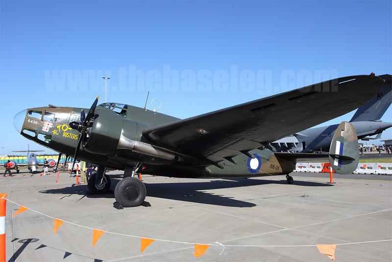 Temora Aviation Museum's Lockheed Hudson bomber VH-KOY