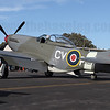 CAC Mustang VH-JUC in RAAF 3 Sqn markings