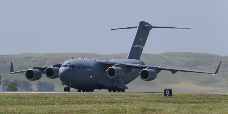 USAF C-17A at Travis AFB Air Show