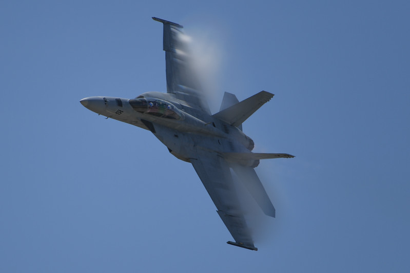 Navy F/A-18F at Travis AFB Air Show
