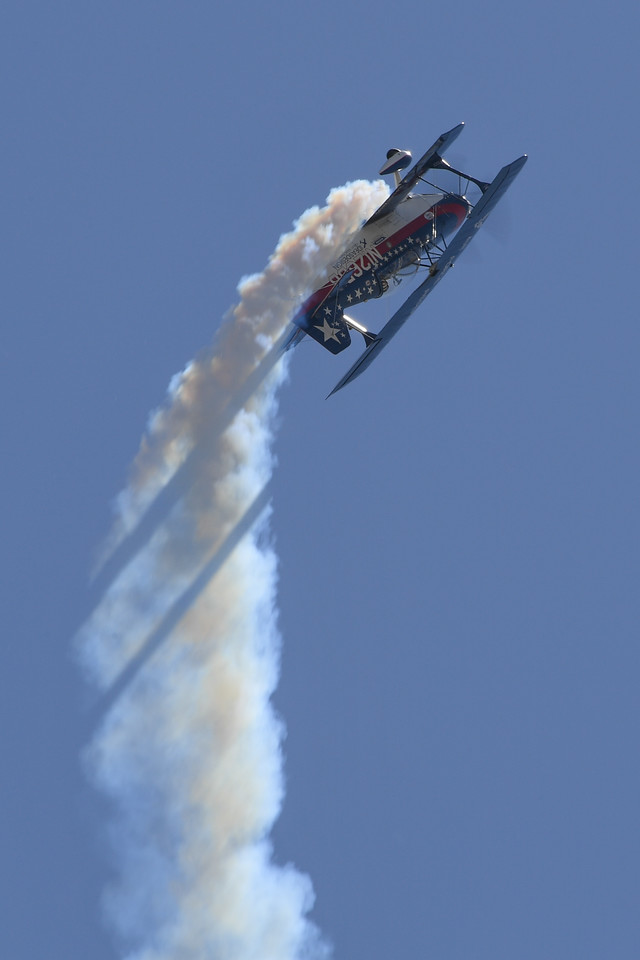 Billy Werth's Pitts S2C at Travis AFB Air Show